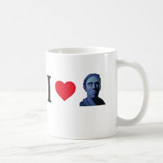 I Heart Escapee a Little Bit Coffee Mugs