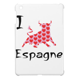 I heart Espagne iPad Mini Cover