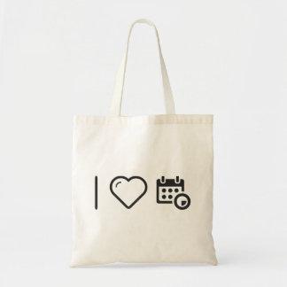 I Heart Event Plays Budget Tote Bag