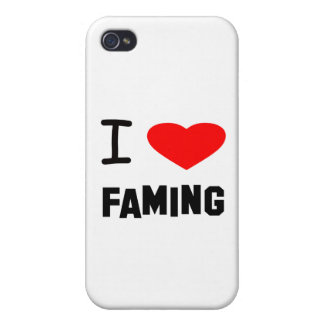 I Heart faming iPhone 4/4S Cases