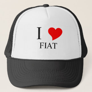 I Heart FIAT Trucker Hat