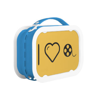 I Heart Film Rolls Lunch Boxes