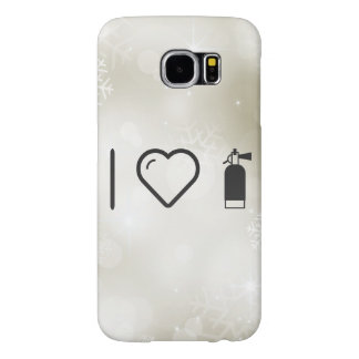 I Heart Fire Extinguishers Samsung Galaxy S6 Cases