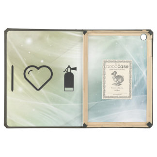 I Heart Fire Extinguishers Case For iPad Air