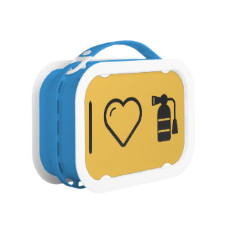 I Heart Fire Extinguishers Lunchboxes