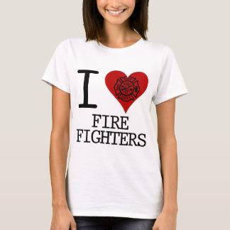 i heart firefighters T-Shirt