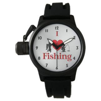 I Heart Fishing Watch