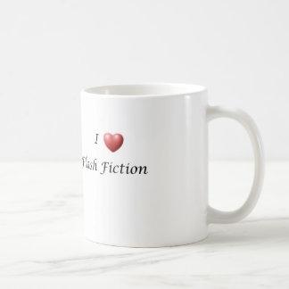 I Heart Flash Fiction Basic White Mug