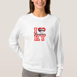 i heart florence ladies fitted hoodie