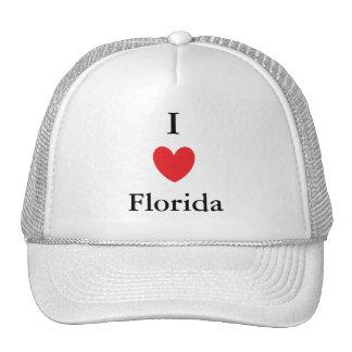 I Heart Florida Mesh Hats