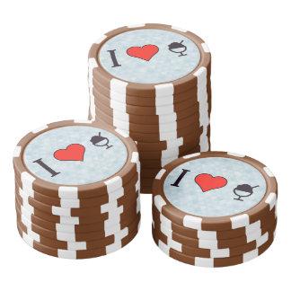 I Heart Frozen Desserts Poker Chips