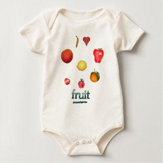 I Heart Fruit Bodysuits