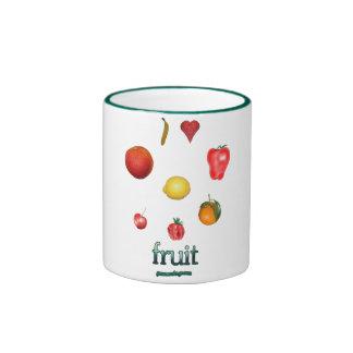 I Heart Fruit Mugs