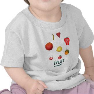 I Heart Fruit Tee Shirts