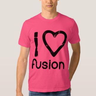 I Heart Fusion Tshirts