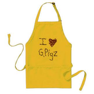 I Heart G. Pigz Apron