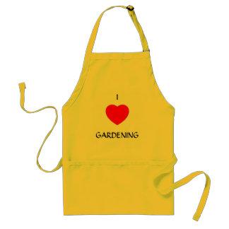 "I ""heart"" GARDENING Standard Apron"
