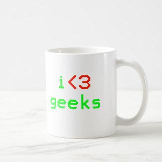 I Heart Geeks Mug