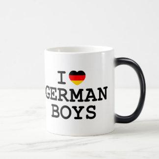 I Heart German Boys Coffee Mug