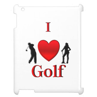 I Heart Golf iPad Cases