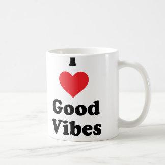 I (Heart) Good Vibes Mugs