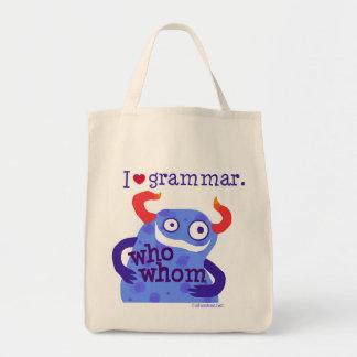 I heart Grammar -- bags