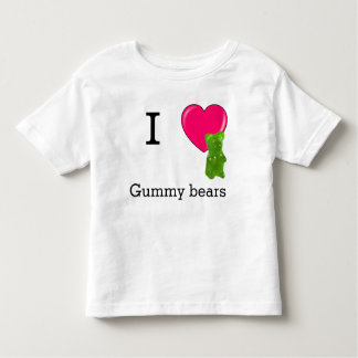 I heart gummy bears tshirt