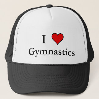 I Heart Gymnastics Trucker Hat
