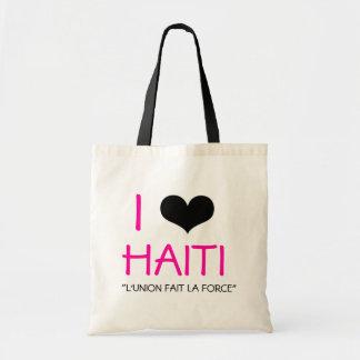 I HEART HAITI TOTE BAG