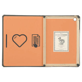 I Heart Hand Reads Case For iPad Air