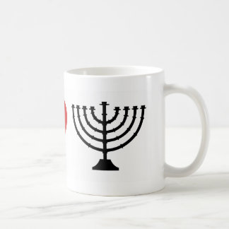 I HEART HANUKKAH COFFEE MUG