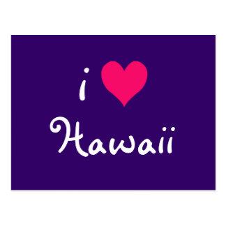 I Heart Hawaii Postcard