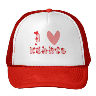I Heart Hearts Trucker Hats
