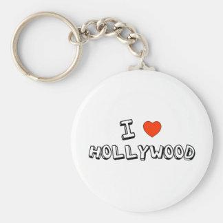 I Heart Hollywood Key Ring