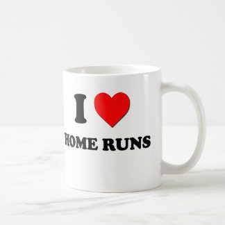 I Heart Home Runs Coffee Mug