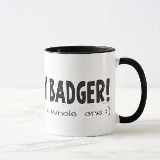 I Heart Honey Badger Mug