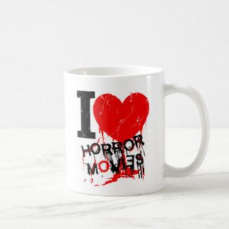 I HEART HORROR MOVIES MUGS