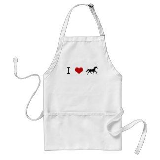 I heart Horses Standard Apron