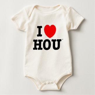 I Heart Houston baby creeper