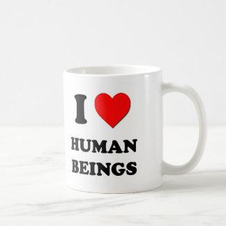 I Heart Human Beings Coffee Mug
