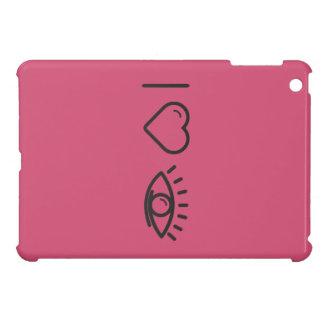 I Heart Human Eyes iPad Mini Case