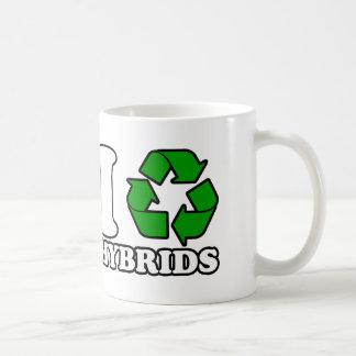 I Heart Hybrids Coffee Mugs