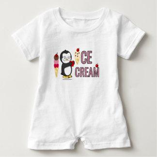 I Heart Ice Cream! Baby Bodysuit