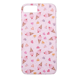I Heart Ice Cream iPhone Case
