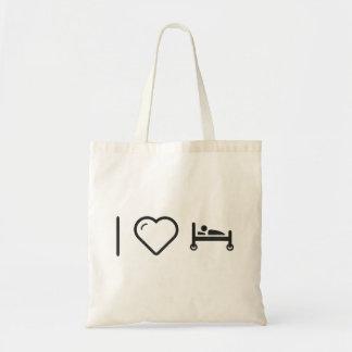 I Heart Illness Budget Tote Bag