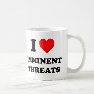 I Heart Imminent Threats Coffee Mugs