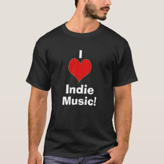 I heart Indie Music 2 T-Shirt