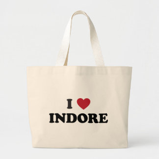 I Heart Indore India Canvas Bags