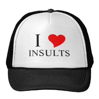 I Heart INSULTS Mesh Hat