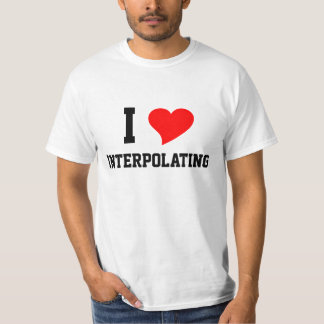 I Heart INTERPOLATING T-Shirt